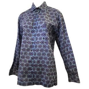 Emilio Pucci 1960s Signed Men's Cotton Shirt (45 Chest)
