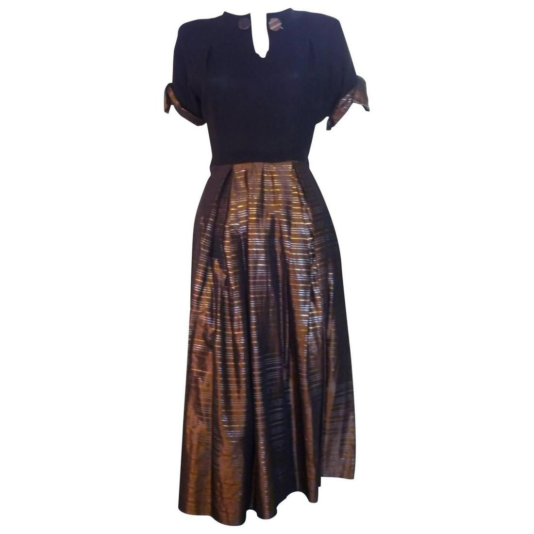 1940s Flora Originals Dress