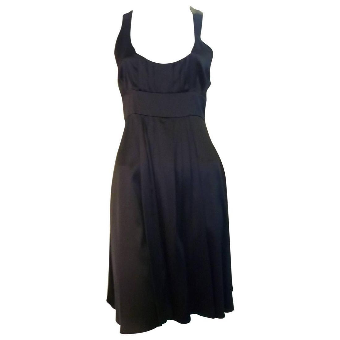 Jasmine Di Milo Black Silk Dress 10UK