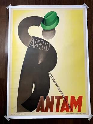 """Bantam Capello - Art by Gino Boccasile (1938) 39.375"""" x"""