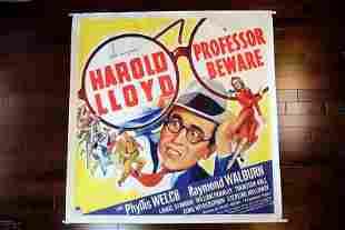 Professor Beware (1938) US 6SH Movie Poster LB