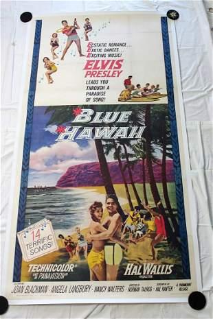 Elvis Blue Hawaii (USA, 1961) Three Sheet Movie Poster