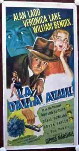 The Blue Dahlia - Veronika Lake (1946) (Spanish