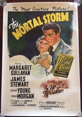 The Mortal Storm - James Stewart (1940) US One Sheet