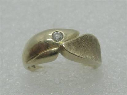 Vintage 14kt Diamond Band/Ring, Men/Ladies, Wedding