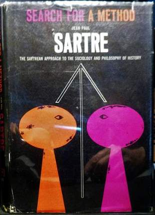 1963 Jean Paul Sartre Signed 1st Edition
