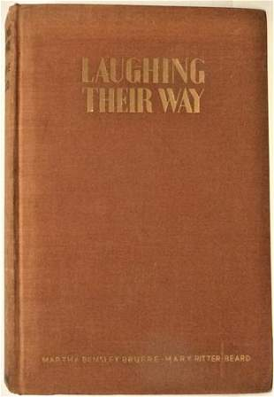 1934 Women's Humor Signed 1st edition