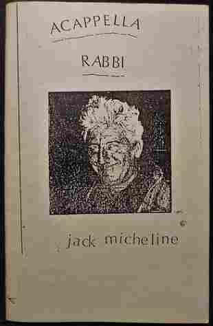 1973 Acapella Rabbi Signed