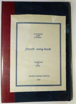 1933 Katherine Anne Porter Signed 1st Edition
