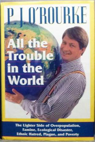 All The Trouble In The World Signed First Edition