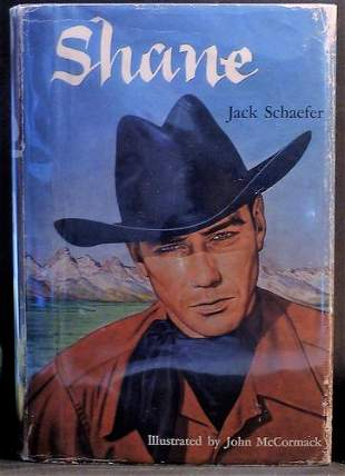 1954 'Shane' Signed 1st Illustrated Edition