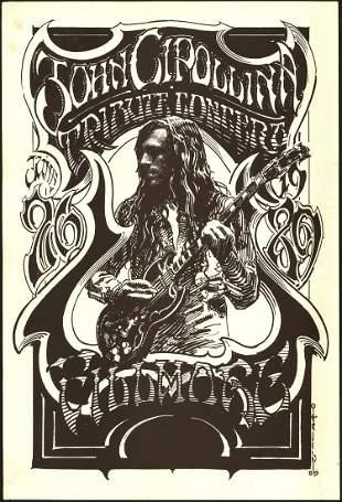 John Cipollina Tribute Concert Poster