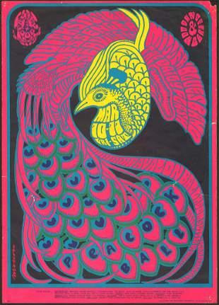 Original FD-51 Avalon Ballroom Poster