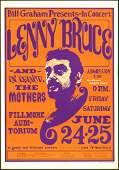 Lenny Bruce Fourth Print BG-13 Poster