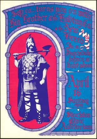 Original AOR 3.22 Big Brother Stockton Poster