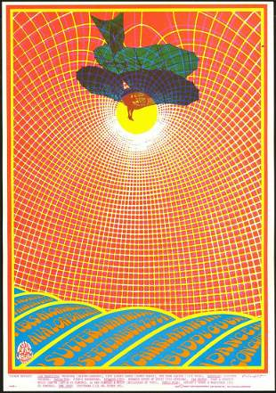 Colorful FD-83 The Charlatans Poster