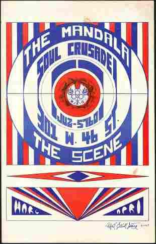The Mandala Original Print Poster