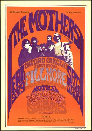 The Mothers Third Print BG-27 Poster