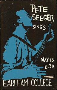 Possibly Unique 1962Pete Seeger Poster