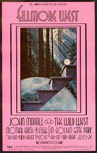 Original John Mayall BG-188 Poster