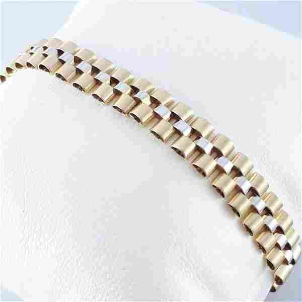 14K Yellow Gold - Bracelet
