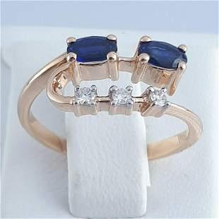14K Pink Gold - Ring
