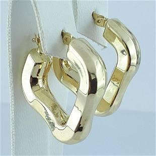 14K Yellow Gold - Earring