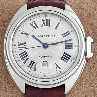 Cartier - Clé De Cartier Automatic - Ref: 3867 - Women