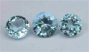 5.76 Cts Natural Blue Topaz Lot