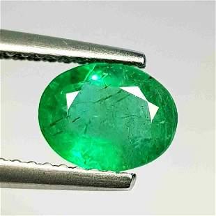 Natural Emerald Oval Cut 0.99 ct