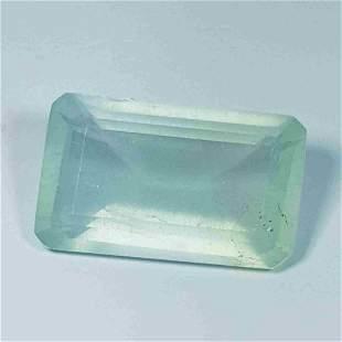 Natural Aquamarine Octagon Cut 17.56 ct