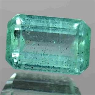 2.85 CTs Natural Crystal Green Emerald