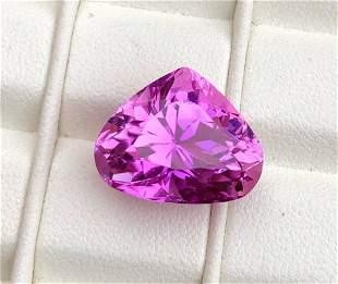 Natural Pink Kunzite Gemstone - 14.35 cts , 17*14*11 mm