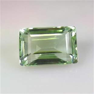 29.05 Ct Natural Green Amethyst Emerald Cut