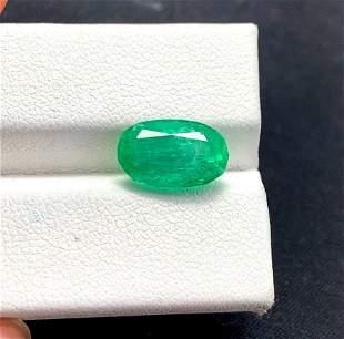 Natural Emerald Gemstone From Panjsher - 4.00 Carats -