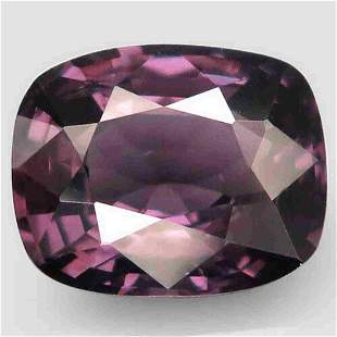 natural pink purple spinel-2,30 ct 1,2