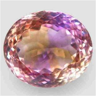natural bi color ametrine-15,10 ct 1,2