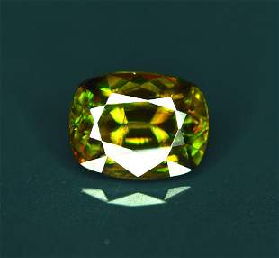 Natural Chrome Sphene Gemstone - 2.50 cts , 10*06*05 mm