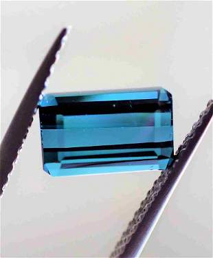 Blue Indigolite Tourmaline - 1.75 ct
