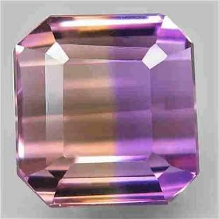natural bi color ametrine-7,77 ct 1,2