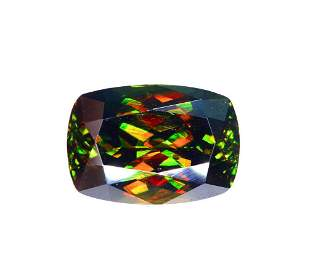 Top Dispersion Chrome Sphene Gemstone from Pakistan -