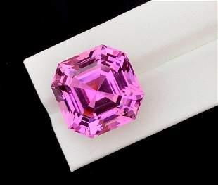 Natural Pink Kunzite Gemstone - 48.15 cts , 21*21*15 mm