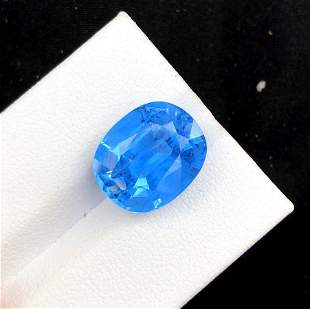 Color Aquamarine Gemstone - 6.60 cts , 12*10*07 mm
