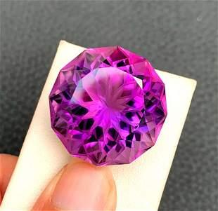 Natural Purple Amethyst Loose Gemstone - 53.05 cts ,