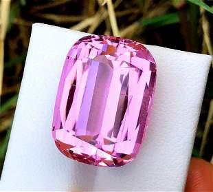 Natural Pink Kunzite Gemstone - 37.95 mm , 13 x 11 x 9