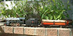 O-scale tinplate train by Paya - Alicante (Spain), from