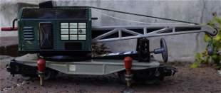 Biller Bahn train-rescue crane ,Oe scale (O scale on HO