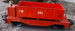 Biller Bahn tipper car ,Oe scale (O scale on HO rails)