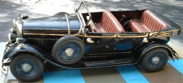Hitler Mercedes by Tippco (Made in Germany 1936),