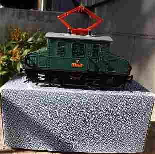 ETS 255 (Czech Republic) tinplate electric locomotive,